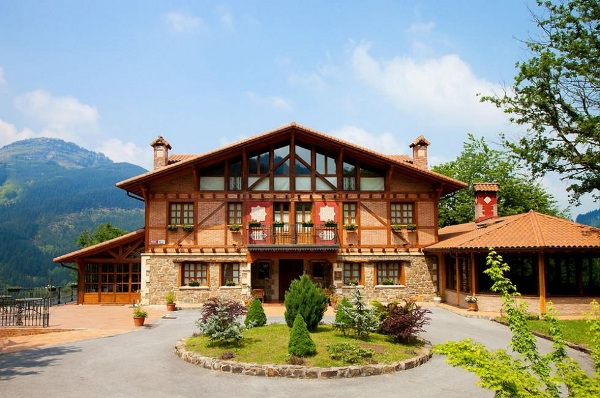 spa hotel at Gorbea